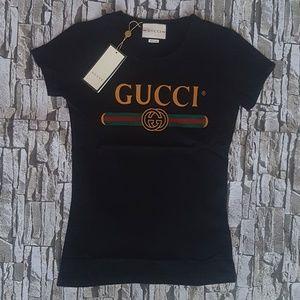 ea563e12 Gucci Tees - Short Sleeve Tops for Women | Poshmark